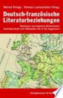 Deutsch franz  sische Literaturbeziehungen