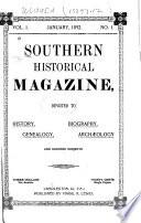 Southern Historical Magazine Book PDF