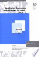 Rapport de la Commission d'experts pour l'application des conventions et recommandations (articles 19, 22 et 35 de la Constitution)