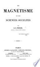 Du Magn  tisme et des sciences occultes