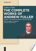 The Diary of Andrew Fuller  1780 1801