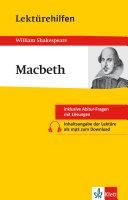Lekt  rehilfen William Shakespeare   Macbeth