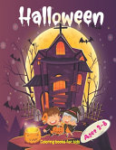 Halloween Coloring Books For Kids Ages 3 8