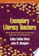 Exemplary Literacy Teachers  Second Edition