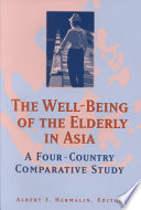 The Well being of the Elderly in Asia