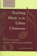 Teaching music in the urban classroom