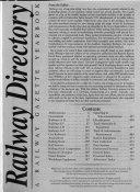 Railway Directory