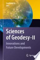 Sciences of Geodesy   II
