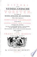 Histori Der Nederlandsche Vorsten