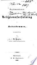 Nordmændenes religionsforfatning i hedendommen