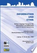 Information und Ethik