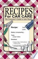 Recipes For Car Care