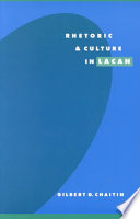 Ebook Rhetoric and Culture in Lacan Epub Gilbert D. Chaitin Apps Read Mobile
