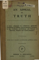An Appeal to Truth