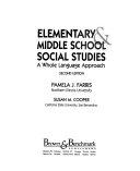 Elementary   Middle School Social Studies