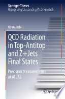 Qcd Radiation In Top Antitop And Z Jets Final States