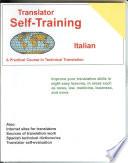 Translator Self Training  Italian