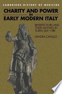 Charity And Power In Early Modern Italy