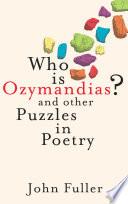 Who Is Ozymandias