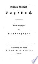 Wilhelm Meisters Tagebuch