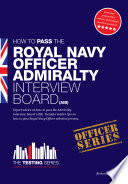 How to Pass the Royal Navy Officer Admir