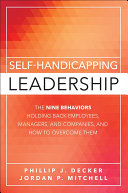 Self Handicapping Leadership