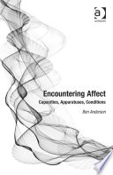 Encountering Affect : and offers one account of affective...