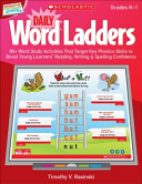 Daily Word Ladders  Grades K 1