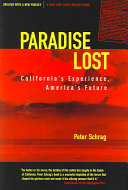Paradise Lost And Political Institutions In California