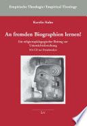 An fremden Biographien lernen!