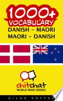 1000  Danish   Maori Maori   Danish Vocabulary