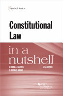 Constitutional law in a nutshell document cover