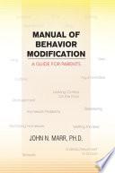 Manual of Behavior Modification