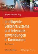 Intelligente Verkehrssysteme und Telematikanwendungen in Kommunen