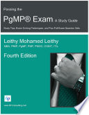 Passing the PgMP   Exam  A Study Guide