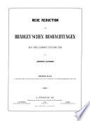 Die Reduction der einzelnen Beobachtungen am Passagen-Instrument und am neuen Quadranten enthaltend