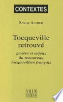 illustration du livre Tocqueville retrouvé