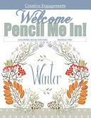 Welcome Winter Coloring Book for Kids Doodle Pad