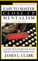 Easy to Master Close Up Mentalism