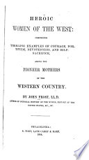 Heroic Women of the West Book PDF