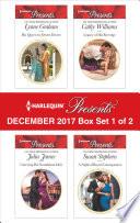 Harlequin Presents December 2017   Box Set 1 of 2
