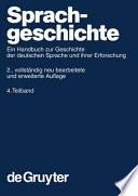 HSK Sprachgeschichte