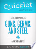 Quicklet On Guns, Germs, And Steel By Jared Diamond : where he was studying bird evolution, jared...