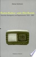Radio Kultur und H  r Kunst