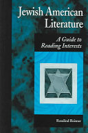 Book Jewish American Literature