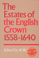 The Estates of the English Crown, 1558-1640