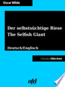 Der Selbsts Chtige Riese The Selfish Giant book