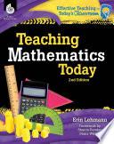 Teaching Mathematics Today 2nd Edition