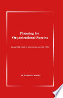 Planning for Organizational Success