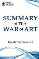 download ebook summary of the war of art by steven pressfield pdf epub